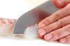 昆布〆鯛のカルパッチョの作り方の手順6
