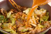 キャベツ・豚肉のピリ辛の作り方4