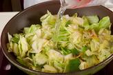 キャベツ・豚肉のピリ辛の作り方1