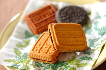 クッキーのチョコサンド