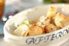 ホタテとイカのクリームチーズ焼き