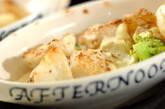 ホタテとイカのクリームチーズ焼きの作り方9