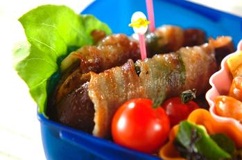 ナスと大葉の豚肉巻き