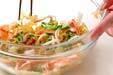 クラゲの酢の物の作り方の手順4