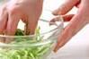 クラゲの酢の物の作り方の手順1