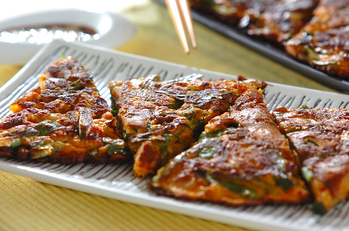納豆キムチチヂミ