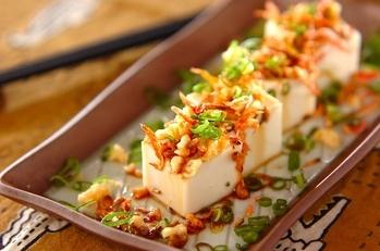 奴風ゴマ豆腐
