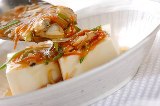 豆腐のアサリあんかけの作り方の手順11