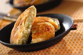 ネギパイ(葱油餅)