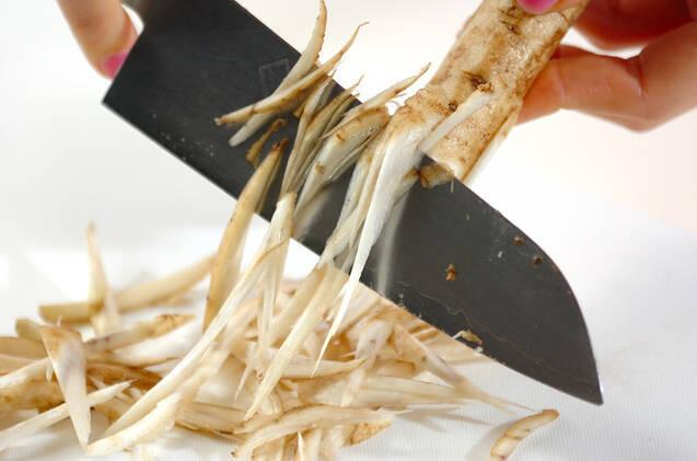 ピリ辛漬けダレの常夜鍋の作り方の手順3
