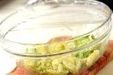 春キャベツのゴマ和えの作り方1