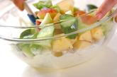 リンゴヨーグルトサラダの作り方1