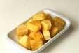 パイナップルヨーグルトの下準備1
