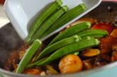 骨付き豚バラ肉と野菜の甘辛煮の作り方4