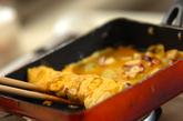 タコ焼き風卵焼きの作り方3