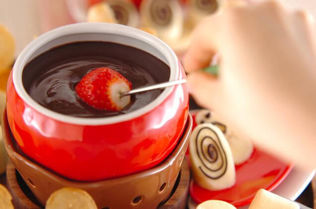 チョコフォンデュの作り方の手順6