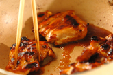 フライパンで照り焼きチキンの作り方3