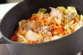 具だくさんキムチスープの作り方2