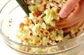タコキャベツ焼きの作り方1