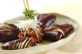 中華風蒸しナスの肉みそ添えの作り方4