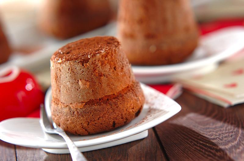 香ばしチョコレートカップケーキ