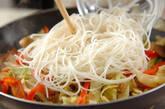 キャベツとツナの簡単ビーフンの作り方7