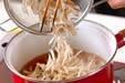 ウナギの柳川丼の作り方6