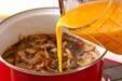 ウナギの柳川丼の作り方7