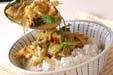 ウナギの柳川丼の作り方4