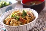 ウナギの柳川丼