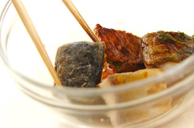 サバのネギソース漬けの作り方の手順2