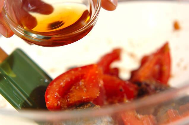 アジとトマトのナムルの作り方の手順3