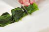 エノキとホウレン草のゴマ和えの作り方の手順4