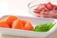 冷凍里芋の煮付けの下準備1