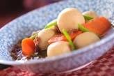 冷凍里芋の煮付け