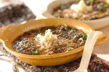 レンジ湯豆腐