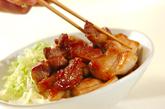 豚肉の甘辛丼の作り方4
