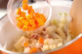 ベーコンの白いスープの作り方6