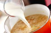 ベーコンの白いスープの作り方3