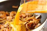 エビと卵の炒め物の作り方7