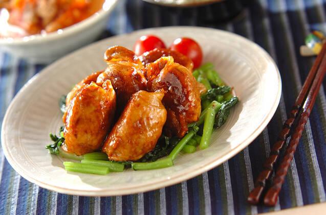 カブの豚肉中華風巻き