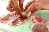 カブの豚肉中華風巻きの作り方1