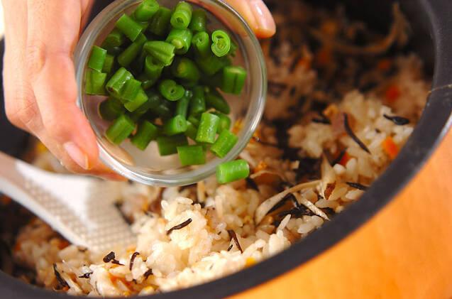 芽ヒジキの炊き込みご飯の作り方の手順9