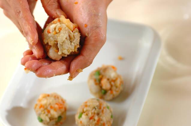 揚げ芋のあんかけの作り方の手順4