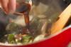 ワカメとウドのショウガきんぴらの作り方の手順3