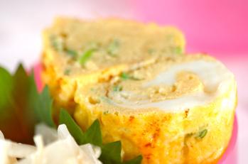 麺つゆで卵焼き