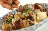 アサリと豆腐の卵炒めの作り方4