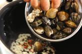 アサリと豆腐の卵炒めの作り方2