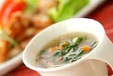 ほうれん草スープ