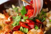 海老のカレー炒めの作り方9